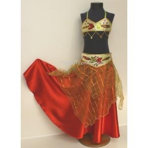 Orientální dívčí kostým 3-315