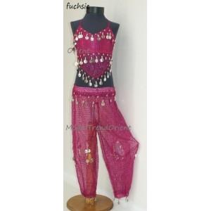 Orient dívčí kostýmek kalhotový 1915