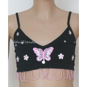 TOP dívčí motýlek