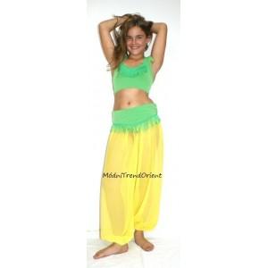 Šifonové dívčí kalhoty