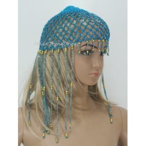 Dívčí čapka přízová