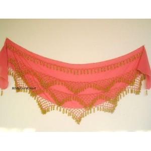 Šátek korálkový