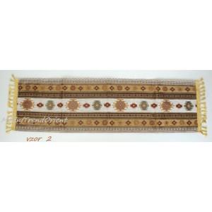 Dekorační šál na stůl kratší