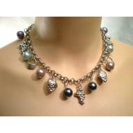 Souprava perlová s přívěsky II