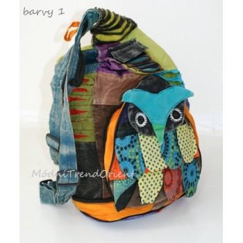 ETNO batoh skládací SOVA - Modní Trend Orient 3abdb30e687