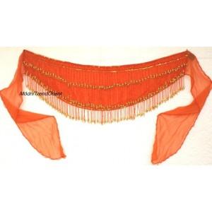 Šátek s korálkovými třásněmi II.
