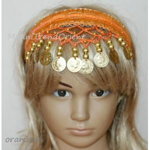Orientální čelenka dívčí