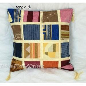 Polštář patchwork čtverce