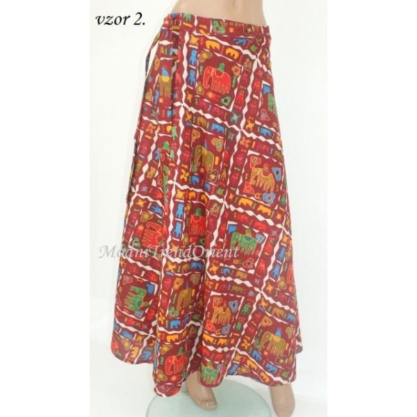 abaa702517c ETNO sukně 1418 - Modní Trend Orient