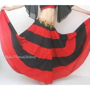 Sukně pruhovaná flamenco