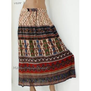 db5c8700357 Sukně indická pestrá - Modní Trend Orient