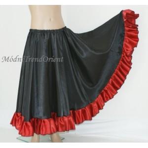 Dívčí sukně s kanýrem