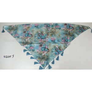 Šátek na boky i na krk  1319