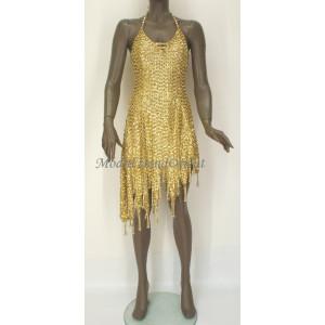 Flitrové taneční šaty