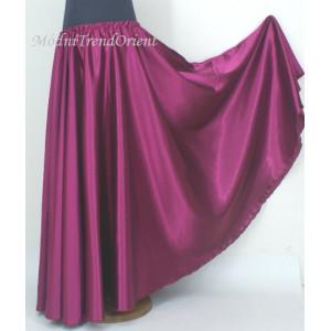 dívčí satén kolová sukně-výprodej