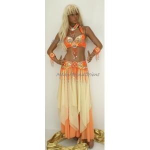 kostým ELENA oranžový