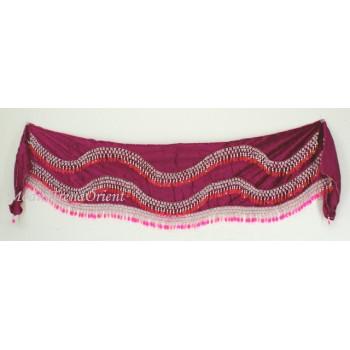 Šátek pro větší boky, s korálky