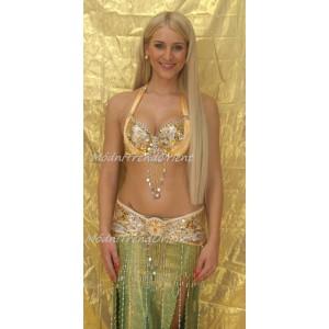 Kostým ELENA zlatý