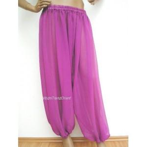 Kalhoty šifonové, harémové